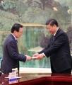 El enviado especial de Moon con Xi