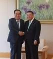 韓国特使 衆院議長と会談