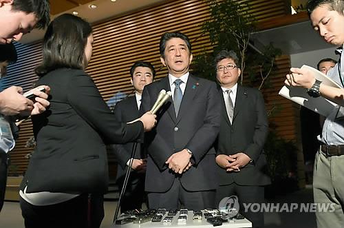 """아베 """"대북 방위력 강화…신형 미사일 요격시스템 배치"""""""