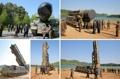 Préparation d'un tir de missile balistique