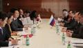 La delegación del enviado de Moon ante Rusia