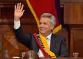 """모레노 에콰도르 대통령 취임…""""모두 위한 대통령 되겠다"""""""