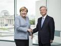 Emissaire spécial avec Merkel
