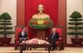 ベトナム最高指導者と面談