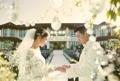 結婚式の写真公開