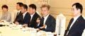 朴槿恵政権の閣僚と昼食会