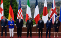 "G7 공동성명 ""北, 핵프로그램 포기 안 하면 대북제재 강화""(종합)"