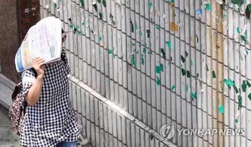 경남내륙 폭염은 중국의 고온건조한 공기 유입 탓