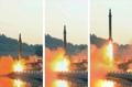 Tir de missile balistique du Nord