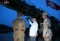 كيم جونغ أون يشرف على الإطلاق التجريبي لصاروخ بالستي