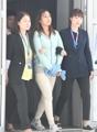 La hija de Choi extraditada llega a Corea del Sur procedente de Dinamarca