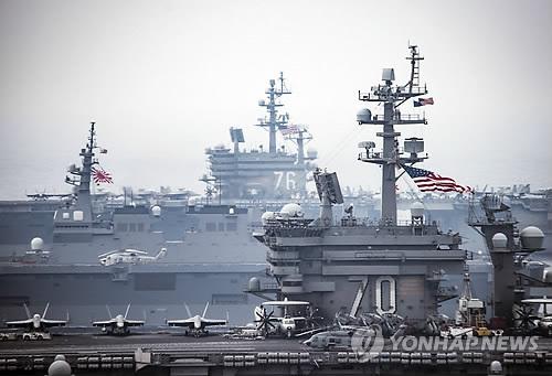 美 첨단무기 집결장 된 日이와쿠니시…전투기 130여대 모인다