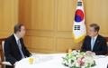 Moon se reúne con el exjefe de la ONU