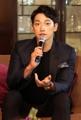S. Korean singer Rain in Bangkok