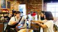 Cafetería de mujeres extranjeras en Corea del Sur