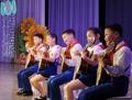 Corea del Norte celebra el aniversario de la unión de niños
