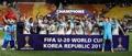 イングランド初V U20韓国大会