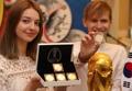 W杯ロシア大会の記念コイン公開