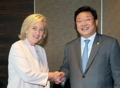 Ministre de l'Industrie et princesse belge