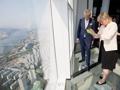 La princesse belge à Seoul Sky