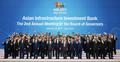 AIIB年次総会 済州で開幕