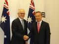 Envoyé spécial et le PM australien