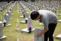In memory of fallen soldiers from Korean War