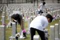 En mémoire des soldats morts durant la guerre de Corée