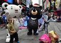 Mascottes des JO de PyeongChang à New York