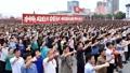 Concentración en Pyongyang con motivo al aniversario de la Guerra de Corea