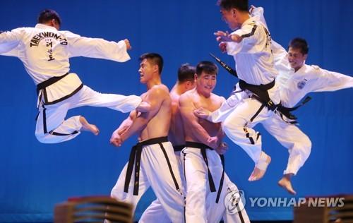 북한 주도 ITF 태권도시범단, 2박 3일 서울 나들이