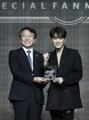 韓日友好に寄与 ジェジュンを表彰