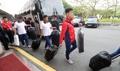 El equipo norcoreano de taekwondo en Seúl