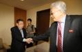 L'ancien chef de la WTF et le membre nord-coréen du CIO