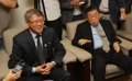 L'ancien président de la WTF et le président de l'ITF