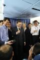 El presidente a bordo de su avión