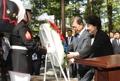 朝鮮戦争の米軍犠牲者に献花