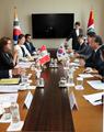 Reunión entre Corea del Sur y Perú