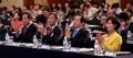 朝鮮半島統一シンポに首相ら出席
