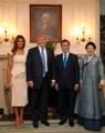 Los presidentes y primeras damas de Corea del Sur y EE. UU.