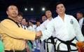 Taekwondoïstes des deux Corées