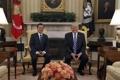 La primera cumbre entre Moon y Trump