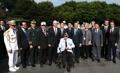 El presidente Moon visita el memorial de veteranos estadounidenses