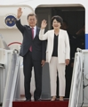 文大統領 G20へ出発