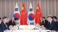 Los mandatarios de Corea del Sur y China se reúnen en Berlín