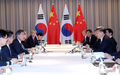 Sommet Corée-Chine