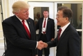 Moon et Trump