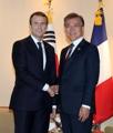 Moon et Macron