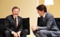 Moon et Trudeau