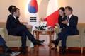 Cumbre entre Corea del Sur y Francia